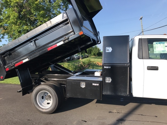 2019 F-350 Regular Cab DRW 4x4, Godwin 184U Dump Body #YE60606 - photo 7
