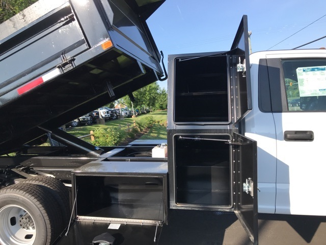 2019 F-350 Regular Cab DRW 4x4, Godwin 184U Dump Body #YE60606 - photo 8