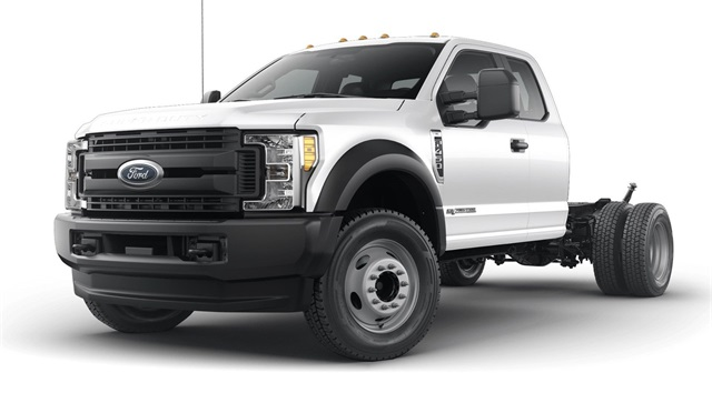 2019 F-450 Super Cab DRW 4x4, PJ's Stake Bed #YE60664 - photo 1