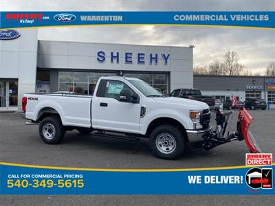 2020 Ford F-350 Regular Cab 4x4, Western Snowplow Pickup #YE79651 - photo 1
