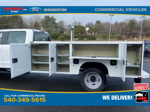 2020 Ford F-550 Crew Cab DRW 4x4, Knapheide Steel Service Body #YE90030 - photo 10