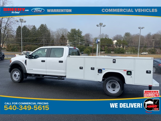 2020 Ford F-550 Crew Cab DRW 4x4, Knapheide Steel Service Body #YE90030 - photo 9