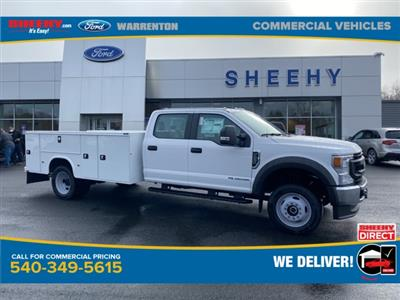 2020 Ford F-550 Crew Cab DRW 4x4, Knapheide Steel Service Body #YE90030 - photo 1