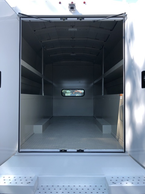 2019 F-550 Crew Cab DRW 4x4, High Roof Enclosed Service Body  #YE93187 - photo 10