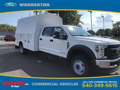 2019 F-550 Crew Cab DRW 4x4, High Roof Enclosed Service Body  #YE93187 - photo 1