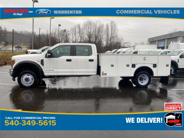 2019 Ford F-550 Crew Cab DRW 4x4, CM Truck Beds SB Model Service Body #YEF24926 - photo 3