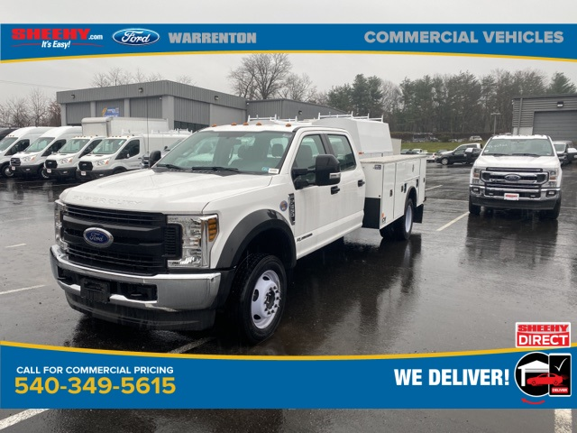 2019 Ford F-550 Crew Cab DRW 4x4, CM Truck Beds SB Model Service Body #YEF24926 - photo 4