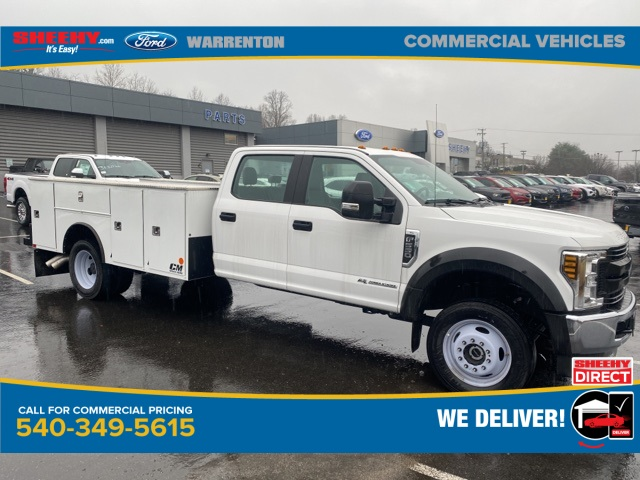 2019 Ford F-550 Crew Cab DRW 4x4, CM Truck Beds Service Body #YEF24926 - photo 1