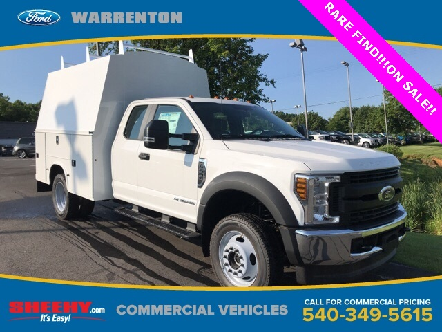 2019 F-550 Super Cab DRW 4x4, High Roof Enclosed Service Body  #YF03416 - photo 1