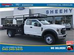 2019 F-450 Super Cab DRW 4x4, PJ's Contractor Body #YF03565 - photo 1