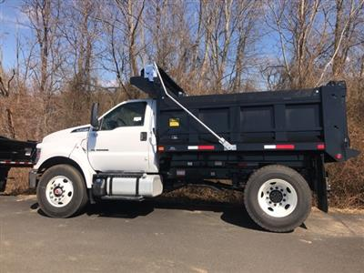 2019 F-650 Regular Cab DRW 4x2,  Godwin 300T Dump Body #YF05310 - photo 6