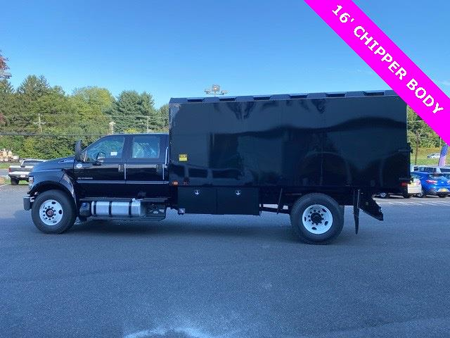 2021 F-750 Crew Cab DRW 4x2,  PJ's Truck Bodies Chipper Body #YF05496 - photo 10