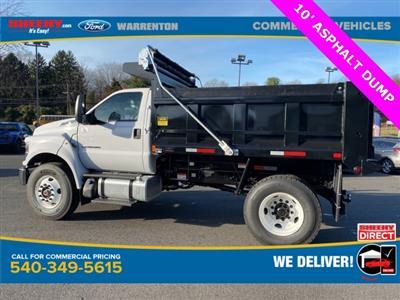 2021 Ford F-750 Regular Cab DRW 4x2, Godwin 300T Dump Body #YF06799 - photo 7