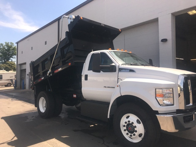2019 F-650 Regular Cab DRW 4x2,  Godwin 300T Dump Body #YF07711 - photo 9