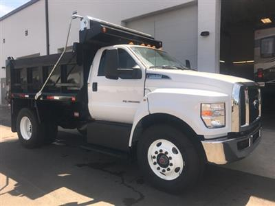 2019 F-650 Regular Cab DRW 4x2,  Godwin 300T Dump Body #YF07711 - photo 6
