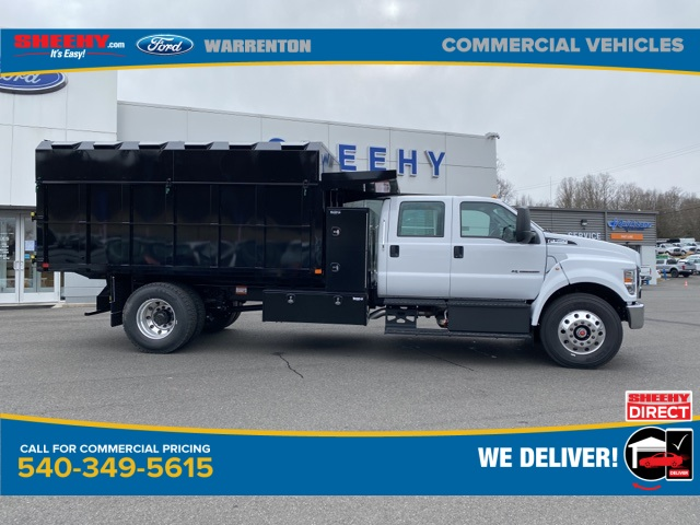 2021 Ford F-750 Crew Cab DRW 4x2, PJ's Chipper Body #YF07926 - photo 4