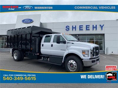 2021 Ford F-750 Crew Cab DRW 4x2, PJ's Chipper Body #YF07926 - photo 1
