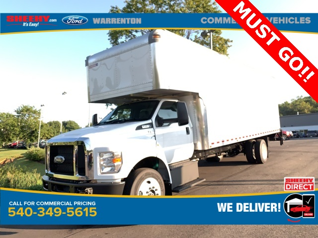 2019 F-650 Regular Cab DRW 4x2, Morgan Dry Freight #YF08402 - photo 1
