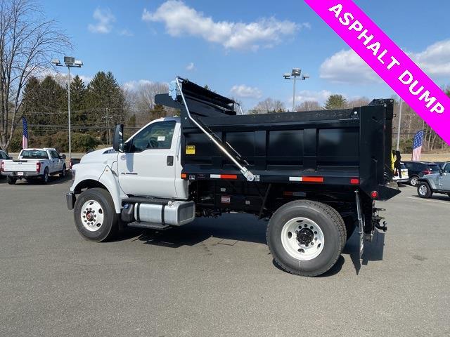 2021 Ford F-750 Regular Cab DRW 4x2, Godwin 300T Dump Body #YF08521 - photo 8
