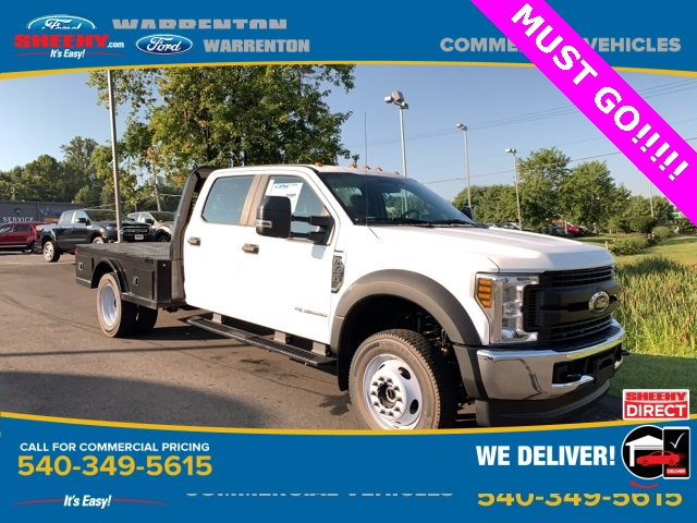 2019 F-450 Crew Cab DRW 4x4,  Knapheide Hauler Body #YF24750 - photo 1