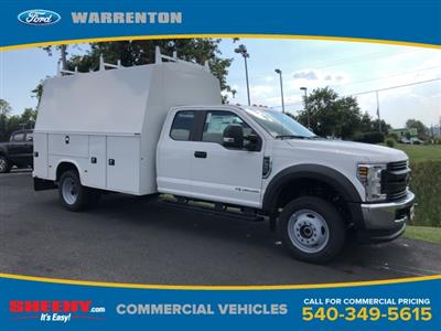 2019 F-550 Super Cab DRW 4x4, High Roof Enclosed Service Body  #YF24765 - photo 1