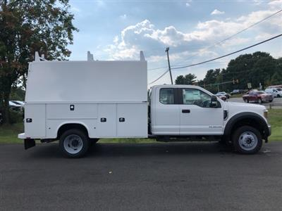 2019 F-550 Super Cab DRW 4x4, High Roof Enclosed Service Body  #YF24765 - photo 8