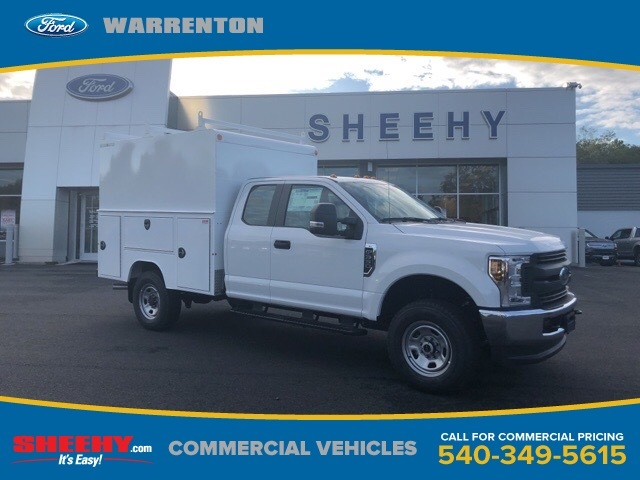 2019 F-350 Super Cab 4x4, Medium roof enclosed service body  #YF30305 - photo 1