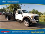 2019 F-550 Regular Cab DRW 4x4,  Knapheide Platform Body #YF41373 - photo 1