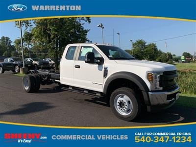 2019 F-550 Super Cab DRW 4x4,  Cab Chassis #YF75889 - photo 1