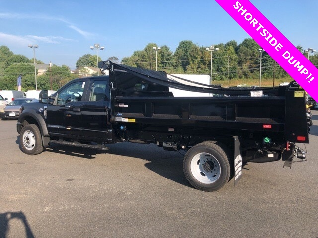 2019 F-550 Super Cab DRW 4x4, Rugby Eliminator LP Steel Dump Body #YF85094 - photo 5