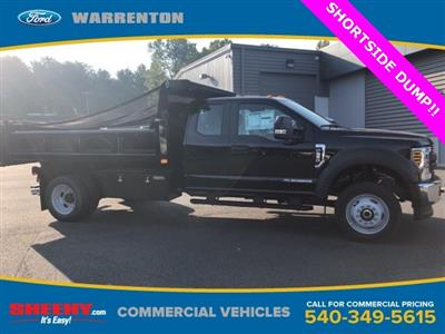 2019 F-550 Super Cab DRW 4x4, Rugby Eliminator LP Steel Dump Body #YF85094 - photo 1