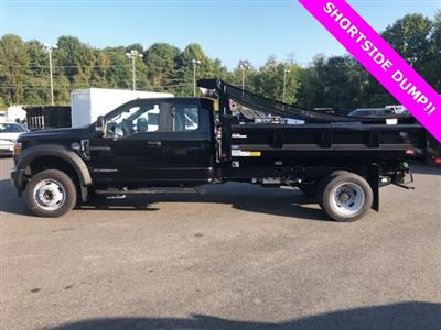 2019 F-550 Super Cab DRW 4x4, Rugby Eliminator LP Steel Dump Body #YF85094 - photo 7