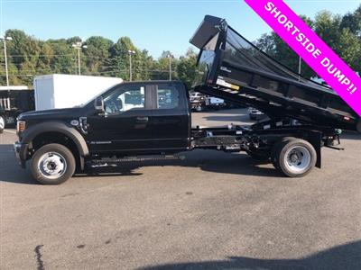 2019 F-550 Super Cab DRW 4x4, Rugby Eliminator LP Steel Dump Body #YF85094 - photo 8