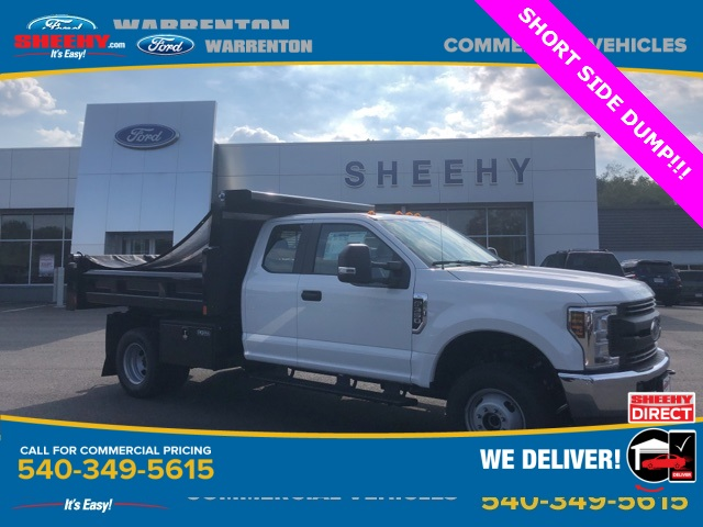 2019 F-350 Super Cab DRW 4x4, Rugby Dump Body #YF85148 - photo 1