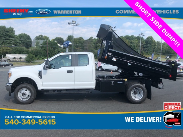 2019 F-350 Super Cab DRW 4x4, Rugby Eliminator LP Steel Dump Body #YF85148 - photo 11