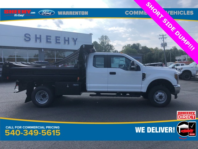 2019 F-350 Super Cab DRW 4x4, Rugby Eliminator LP Steel Dump Body #YF85148 - photo 5
