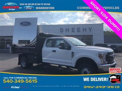 2019 F-350 Super Cab DRW 4x4, Rugby Eliminator LP Steel Dump Body #YF85148 - photo 1