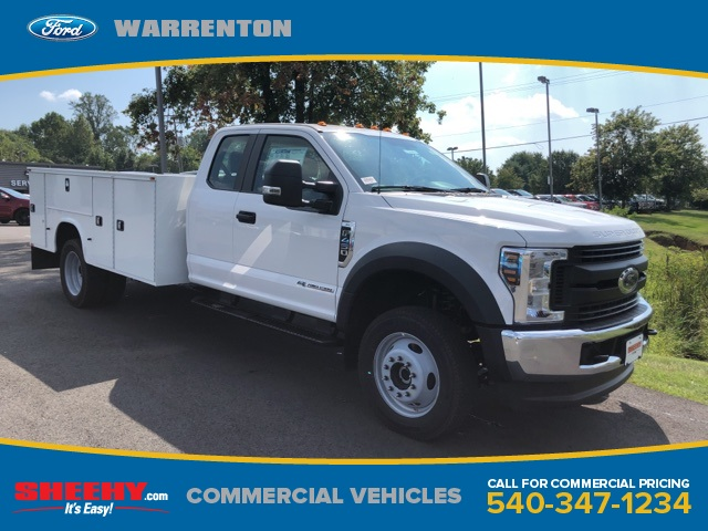 2019 F-450 Super Cab DRW 4x4,  Knapheide Standard Service Body #YF85151 - photo 1