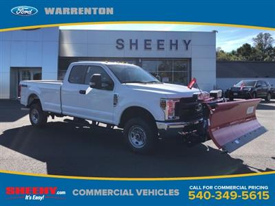 2019 F-250 Super Cab 4x4,  Western Snowplow Pickup #YF97199 - photo 1