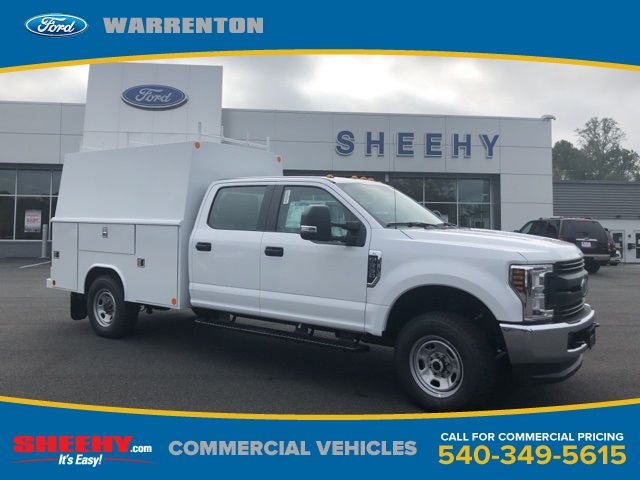 2019 F-350 Crew Cab 4x4, Medium roof enclosed service body  #YG12302 - photo 1