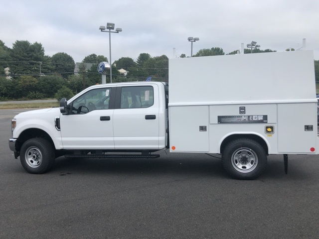 2019 F-350 Crew Cab 4x4, Medium roof enclosed service body  #YG12302 - photo 12