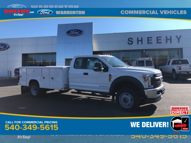 2019 F-450 Super Cab DRW 4x4, Reading Service Body #YG57341 - photo 1