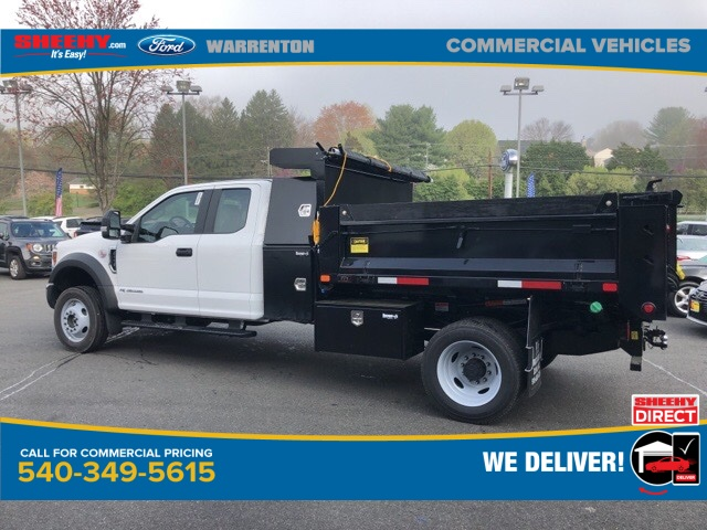 2019 F-550 Super Cab DRW 4x4, Godwin 184U Dump Body #YG58704 - photo 2