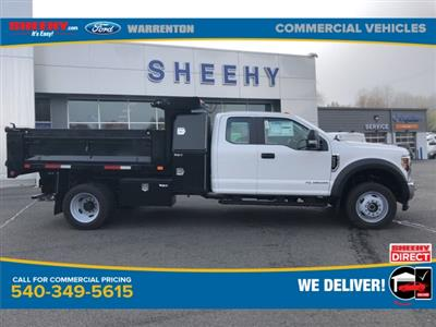 2019 F-550 Super Cab DRW 4x4, Godwin 184U Dump Body #YG58704 - photo 4