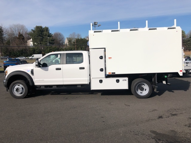 2019 F-550 Crew Cab DRW 4x4, PJ's Chipper Body #YG80401 - photo 9