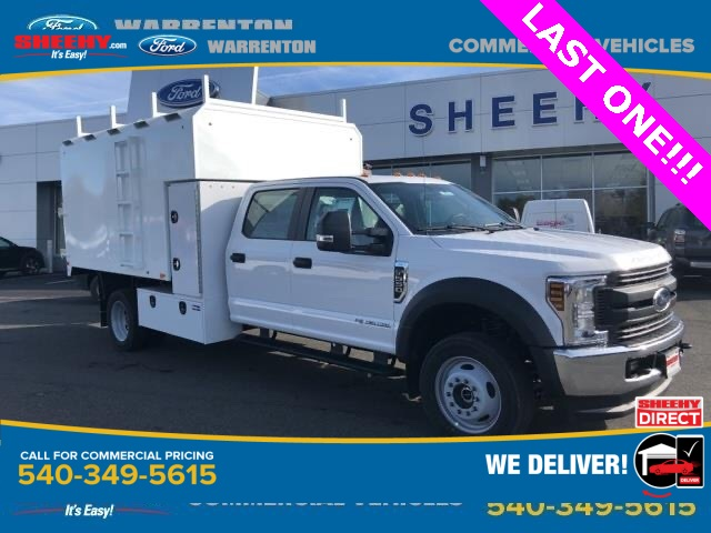 2019 Ford F-550 Crew Cab DRW 4x4, PJ's Chipper Body #YG80402 - photo 1