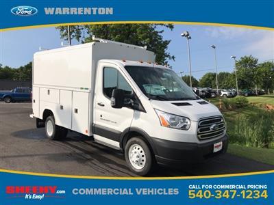 2019 Transit 350 HD DRW 4x2,  Reading Aluminum CSV Service Utility Van #YKA67028 - photo 1