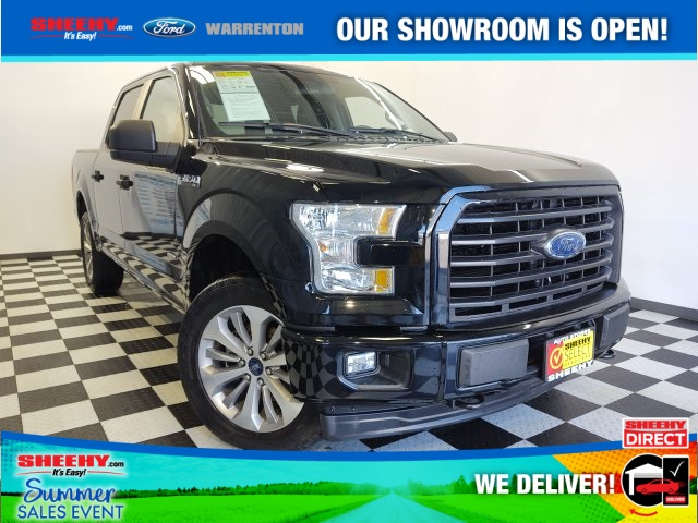 2017 Ford F-150 SuperCrew Cab 4x4, Pickup #YP3613 - photo 1