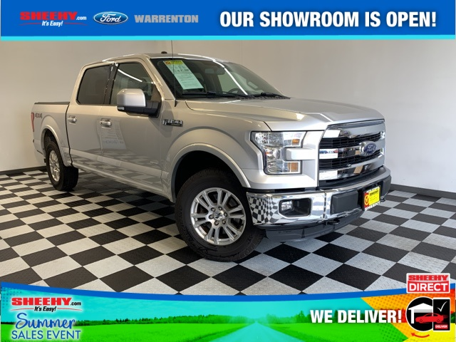 2016 Ford F-150 SuperCrew Cab 4x4, Pickup #YP3633 - photo 1