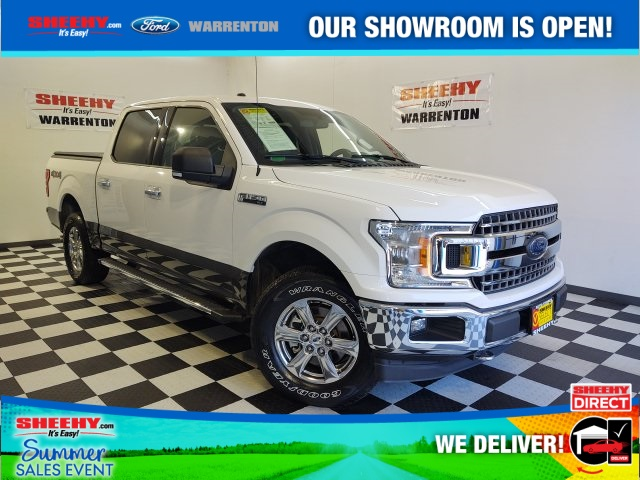 2018 Ford F-150 SuperCrew Cab 4x4, Pickup #YP3651 - photo 1